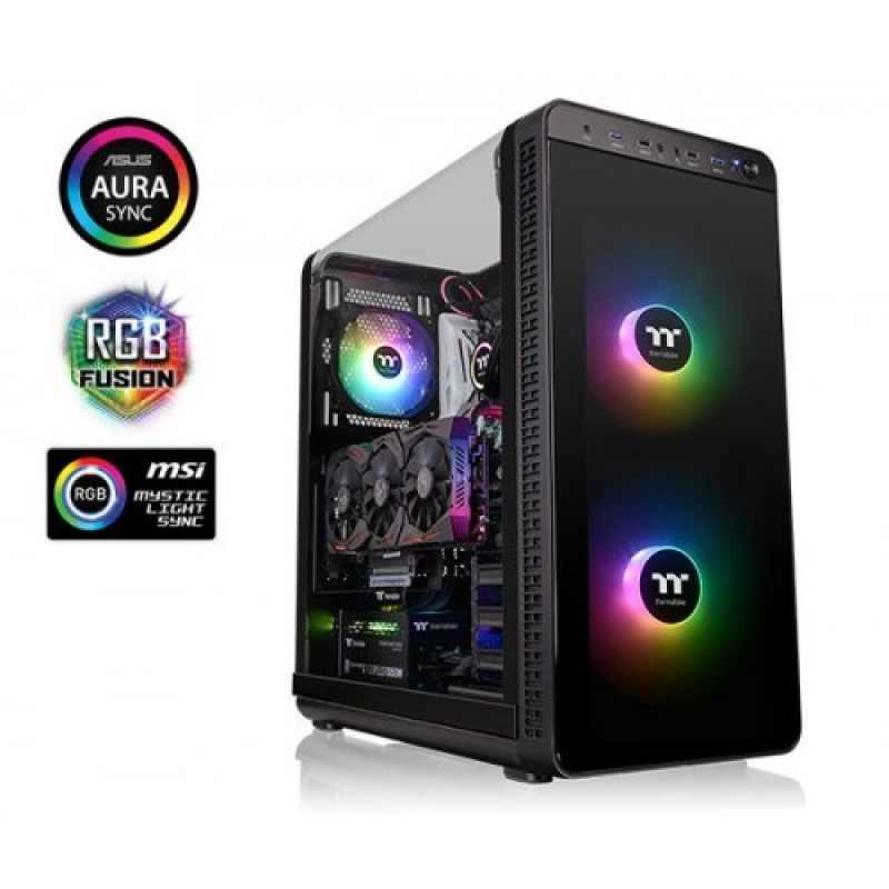 Thermaltake View 37 ARGB Gill-Wing Edition E-ATX Mid Tower Case