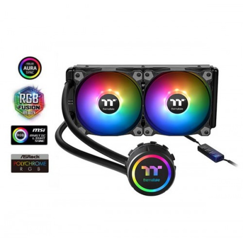 Thermaltake Water 3.0 240 ARGB Sync Edition AIO Liquid CPU Cooler