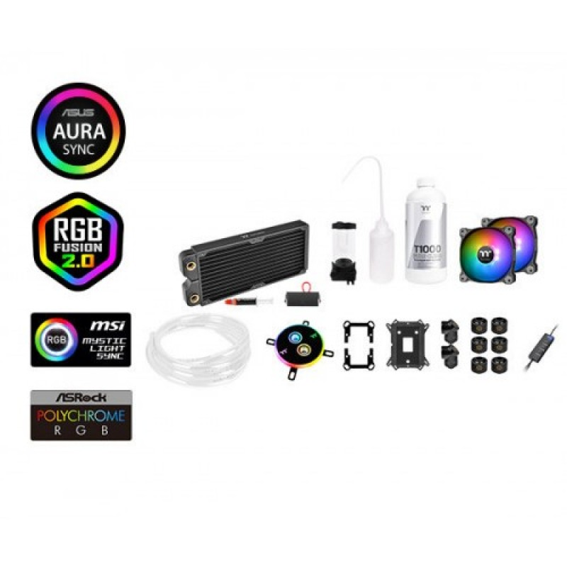 Thermaltake Pacific C240 DDC Soft Tube RGB Liquid / Water Cooling Kit