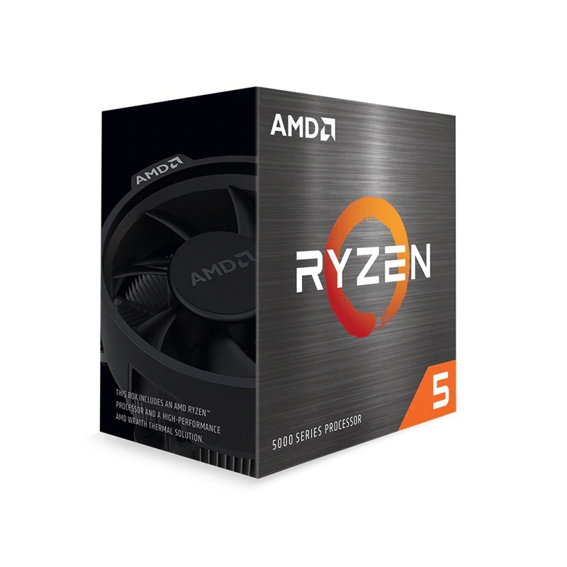AMD Ryzen 5 5600X CPU 6 Core 3.7 Ghz CPU 100-100000065BOX
