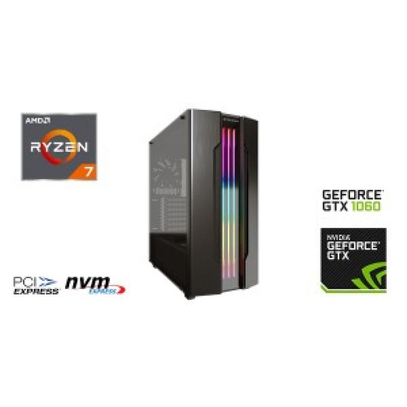 AMD Pro Gaming Ryzen 7 3700X, RGB, 16GB Memory, 512GB NVME SSD, GTX1660 Super 6GB