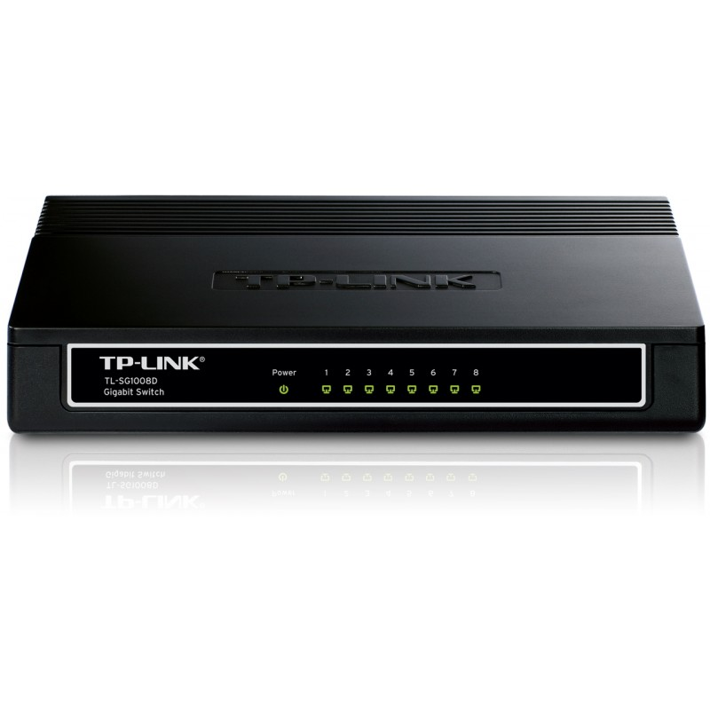 TP-LINK TL-SG1008D 8-port Desktop Gigabit Switch
