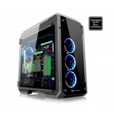 Thermaltake View 71 Black Edition 4-Sided Tempered Glass E-ATX Full Tower Case