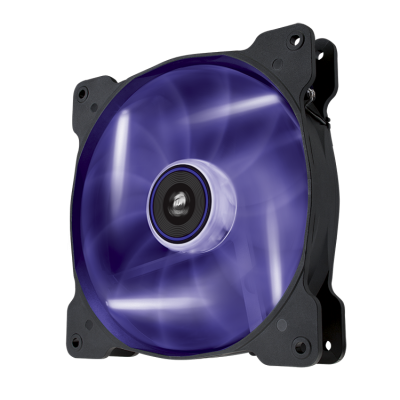 "Purple LED, Corsair ""Air Series"" SP140 LED Purple High Static Pressure 140mm Fan"
