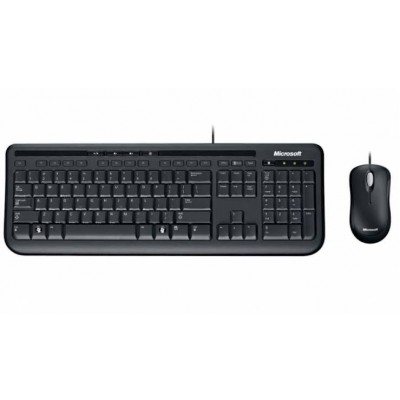 Microsoft wired Desktop 600 mouse + keyboard combo