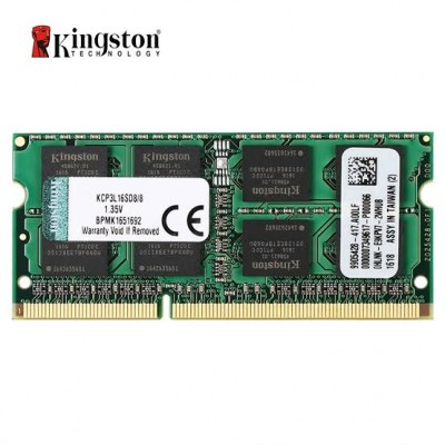 Kingston KCP3L16SD8/8 8GB (1x8GB) 1600MHz DDR3L SODIMM
