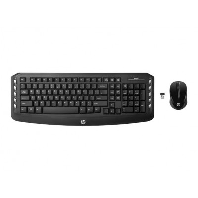 HP Wireless Classic Desktop Keyboard + Mouse Combo