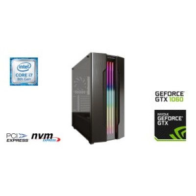 Intel Pro Gaming i7 9700f, 500GB NVME SSD, 16GB Memory, GTX1660 Super 6GB & Windows 10 Home