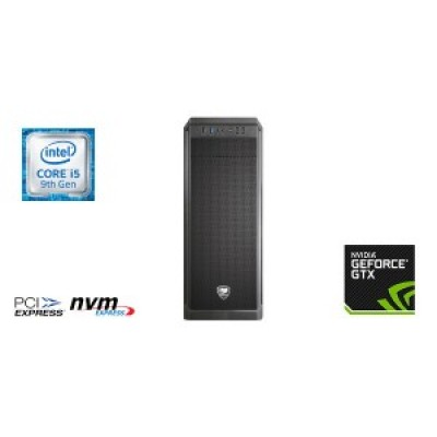 Intel Gaming i5 9400f,  512GB NVME SSD, 8GB Memory, GTX1650 4GB & Windows 10 Home