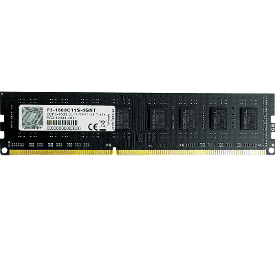 G.Skill 8GB(1X8GB) DDR3-1600 Single Channel [NT] F3-1600C11S-8GNT